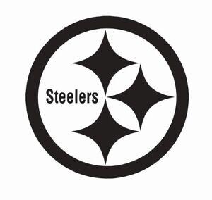 Pittsburgh Steelers NFL Football Vinyl Die Cut Car Decal Sticker - FREE SHIPPING