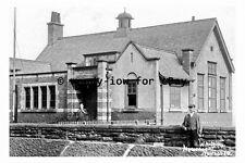 pt9321 - Athletic Club Building , Lofthouse , Yorkshire - photograph