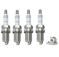 Spark Plugs x 4 Bosch Fits Saab 9-3 / 900 2.0 16V Turbo / Cabriolet Set