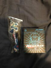 LOOT CRATE MEGA MAN LANYARD And Figure! BRAND NEW!