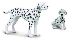 New CollectA Dalmation Dog Toy Figure 88072 + FREE Collecta 88073 Dalmation Pup