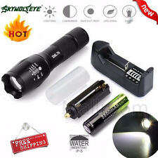 X800 Tactical LED Zooable 4000LM Militaire Lampe torche G700
