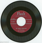 The Jayhawks 1956 Flash 45rpm My Only Darling b/w Stranded In The Jungle