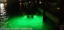 GREEN LED GTY UNDERWATER FISHING DROP LIGHT BOAT DOCK NIGHT FISHING LED LIGHT