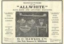 1926 Oc Hawkes Global Works Bromsgrove Street Birmingham Old Advert