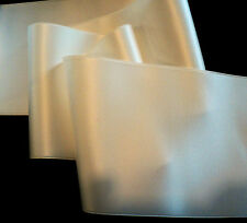 "2"" WIDE SWISS DOUBLE FACE SATIN RIBBON-   BRIDAL WHITE"