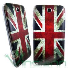 Cover copri batteria BANDIERA INGHILTERRA p Samsung Galaxy Note 2 N7100 inglese