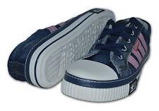 Mujer Zapatillas de tela / lona, Azul Marino / rosa, talla 5 (EUR38)