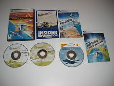 Microsoft FLIGHT SIMULATOR X GOLD Pc DVD inc FSX Deluxe + ACCELERATION Expansion