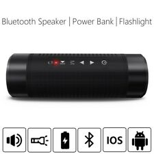 5200mAh Wireless Bluetooth Speaker Waterproof Subwoofer Bass Speaker LED Light
