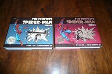 The complete Spider-Man Strips Volumes 1 & 2 , Panini Comics 2007 , 2008 , VF