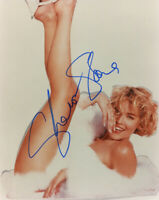 SHARON STONE SIGNED AUTOGRAPHED 8x10 PHOTO EARLY RARE FULL SIGNATURE BECKETT BAS