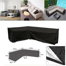 A Prueba De Agua Mueble esquina de la cubierta del sofá sofá Al Aire Libre Muebles L Forma Slipcover