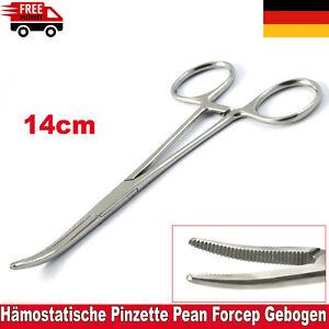 Gefäßklemme Arterienklemme Pliers Pean chirurgisch Hämostatische Zange Mdspo CE