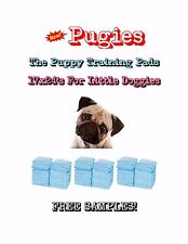 "300-17x24"" Pugies the Lightweight Puppy Training Pads Made for Little Doggies"