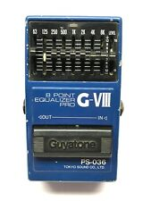 Guyatone PS-036, 8 Point Equalizer Pro. G-VIII, Made In Japan, 1980's, Vintage