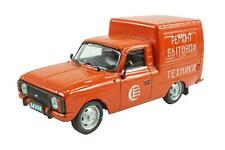 Brand New DeAgostini 1:43 Diecast Russian Legends IZH 2715 Delivery Van Orange