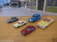 Lot of rare vintage Matchbox and Dinky models from the 50,s made in England