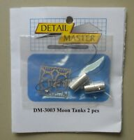 MOON TANKS 2 PCS 1:24 1:25 DETAIL MASTER CAR MODEL ACCESSORY 3003