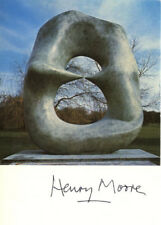 HENRY MOORE Signed Photograph - British Sculptor & Artist - Preprint