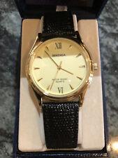 Sekonda Strap Gents watch 011-662 black and gold BNIB