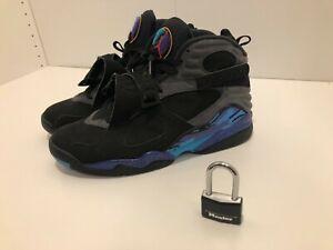Air Jordan Retro VIII (8) Aqua, Size 12