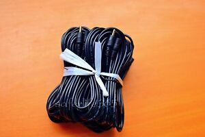 10X 10ft DC 5V 2A Extension Power Cable Cord 3M 3.5*1.35 For IP Camera Adapter