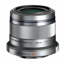 Olympus M.Zuiko 45mm f1.8 Digital Lens - Silver *BRAND NEW & FACTORY SEALED*