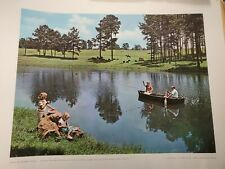 1965 America the Beautiful USDA Soil Conservation Office Set of 52 Prints 24x20