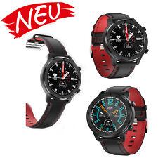 Dorado fitnesstracker pulsuhr reloj de pulsera negro rojo para Android y iOS