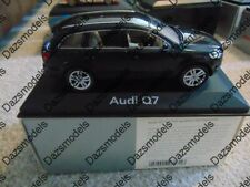 Schuco Audi Q7 Blue 1:43 5010507633 Dealer Edition