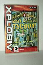 DONALD TRUMP'S REAL ESTATE TYCOON! USATO PC CDROM VERSIONE ITALIANA GD1 45163