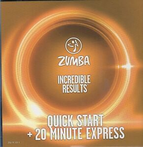 Zumba Dance Fitness Incredible Results DVD - QUICK START + 20 MINUTE EXPRESS DVD