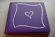 Creative Memories Trumph 7x7 Purple Album Coverset WITH PAGES BNWOP