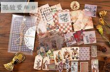Vintage Wonderland Tea Party Scrapbooking Supplies Paper Lot