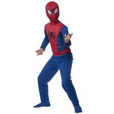 MARVEL HERO SPIDER-MAN BOYS CHILD BOYS COSTUME SIZE M 8-10 AGES 5-7 years NIP