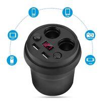 5V Auto Zigarettenanzünder Steckdose USB Ladegerät Adapter KFZ Einbau 3.1A