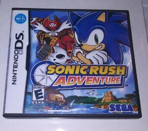 Sonic Rush Adventure (Nintendo DS, 2007) Complete CiB