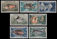 Mali 1960 - Mi-Nr. 6-12 ** - MNH - Fische / Fish