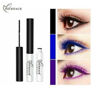 NICEFACE 7 Colors Mascara Waterproof Charming Longlasting Thick Eyes Makeup
