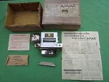 Serrure de sureté AMAX tiroir caisse magasin timbre alarme puissant ancienne