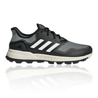 adidas Mens Adipower Hockey Shoes Pitch Field Black White Sports Breathable