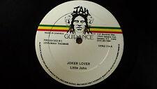 """Little John """" Joker Lover """" Reggae 12"""" Jah Guidance"""