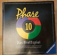 Ravensburger Phase 10 Das Brettspiel - komplett/vollständig aus Nichtraucherhaus