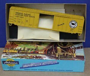 Athearn Bev-bel 565 HO Terminal Ry Alabama State Docks 50' ACF Boxcar Kit NIB