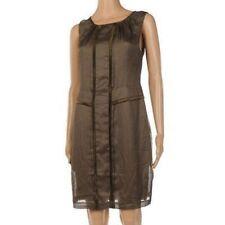 SQ 93 Day Birger Et Mikkelsen Grey Striped Dress Size 34 UK 8