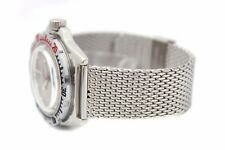 22mm Stainless Steel Shark Mesh Watch Strap Bracelet For VOSTOK Amphibia