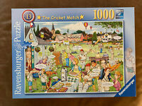 Ravensburger 1000 Piece Jigsaw Puzzle-The Cricket Match