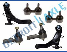 New 6pc Front Lower Control Arm Tie Rod Sway Bar for 2001-2006 Hyundai Elantra