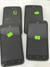 HTC One X+ 64gb  Android Smartphone AT&T Beats Audio Lot of 4 Black/Gray as is
